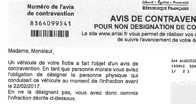 avis-infraction-non-denonciation-vehicule